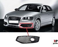 Pour Audi S3 2007 - 2008 Avant Pare-Choc Phare Anti-brouillard Grille Gauche N/S