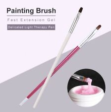 Professional Builder Gel Brush UV Polygel #6 Size Nail Art Extension Pen Tool
