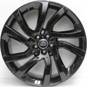 20 inch Genuine LAND ROVER DISCOVERY SPORT 2018 MODEL ALLOY WHEELS IN BLACK