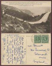 GOLD COAST SEKONDI to PORTSMOUTH GB 1927 PPC NICE
