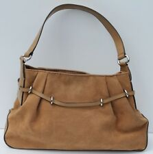 Mondani New York Solid Brown Hobo Style Small Faux Leather Handbags
