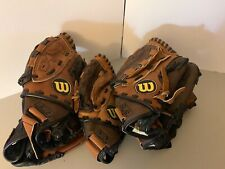 Wilson A440/A450 11� Real Leather Youth Right Handed Glove Fast Free Shipping