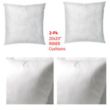"Ikea Insert Cushion / Throw Pillow Set of 2 INNER 20 X 20"" NEW Free Shipping"