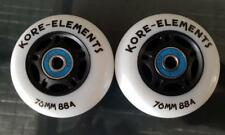 RIPSTIK / RIPSTICK SKATE SURFER 76mm 88a REPLACEMENT WHEELS + ABEC 9 BEARINGS