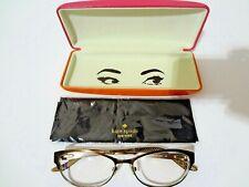 """Kate Spade"" NewYork Lady's Eyeglasses Camelot OJUV 135 52 15 Metal Frame Copper"
