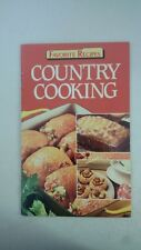 Country Cooking Paperback – 1987 by Favorite Recipes Magazine (Editor)