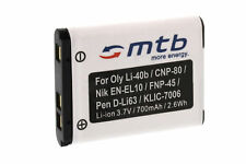 Batteria NP-80 NP80 per Casio Exilim EX-Z550, Z800, ZS5, ZS100