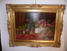 Huile sur toile; très beau tableau , école italienne du XIXème