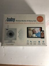 WiFi Baby 3: Wireless iPhone, iPad, Android Baby Monitor & Nanny Cam DVR. Video,