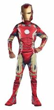 Boy's Iron Man Mark 43 Costume Avengers 2 Kids Size Lg 12-14