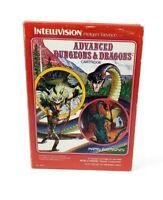 Vintage Intellivision Advanced Dungeons & Dragons Game Cartridge