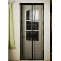 Instant Mesh Screen Net Door Magnetic Hands-Free Anti Mosquito Bug Fly Curtain