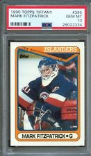 1990 Topps Tiffany #395 MIKE FITZPATRICK New York ISLANDERS Gem Mint PSA 10