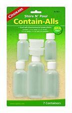 Coghlans Contenere Alls-Set di 7 in plastica alimentare SIGILLATO CONTENITORI PER CAMPEGGIO