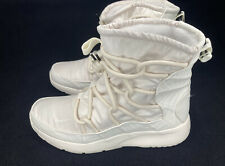 Nike Tanjun High Rise White Winter Boots  AO0355-003 Women's Size 8