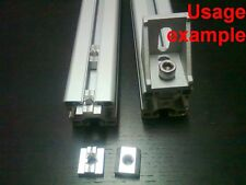 Aluminum T-slot profile slide-in T-nuts 8T-30 M6mm, 24-set