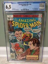 Amazing Spider-Man #169 - Marvel Comics 6/77 - CGC 6.5 White pages