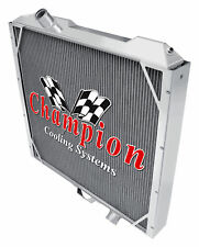 3 Row Discount Champion Radiator for 1992 - 2001 AM General Hummer V8 Engine