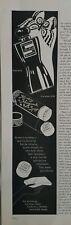 1940 Shocking de Schiaparelli bath sponge eau de cologne perfume vintage ad