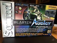 Creative Labs Sound Blaster Audigy Platinum eX Soundcard (Open Box - Brand New)