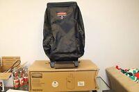 Rubbermaid Commercial FG617400BLA Mobile Cart Bag Black Fabric Executive Series