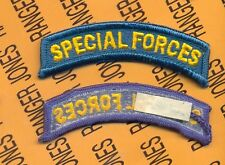 US ARMY SPECIAL FORCES Dress Uniform sew on LONG tab patch m/e