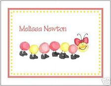 Sweet Caterpiller Personalized Note or Thank You Cards