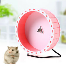 Silent Roller Hamster Running Exercise Wheel Hedgehog Mouse Rat Pet Toy Pvc