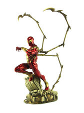 Sideshow Collectibles Iron Spider-Man Comiquette Statue Marvel Sample New In Box