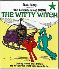Children's Superscope Tele-Story Book ~ The Adventures Of Gumby THE WITTY WITCH