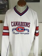 Montreal Canadiens 2008-2009 100th Season Jersey Size XL