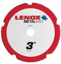"NEW LENOX 1972918 3"" METALMAX GRINDER METAL CUTTING CUT-OFF WHEEL SALE"