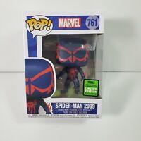 Funko Pop Marvel Spiderman 2099 #761 ECCC Walgreens 2021 Shared Damaged Box