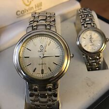Calvin Hill His And Hers Watch Set Beautiful Msrp $88.99 Jewelry Men's Womens