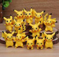Kids 12pcs Pokemon Go Pikachu PVC Figure Doll Play set Toy cake topper Decor 5cm