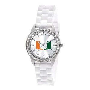 Collegiate Ladies University Of Miami Frost Watch