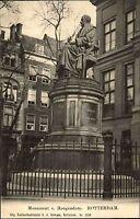 ROTTERDAM Holland Briefkaart ~1900/10 Denkmal Monument v. Hoogendorf alte AK