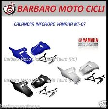 PUNTALE CALANDRA INFERIOR YAMAHA MT07 RACING TRACER MT-07 BLACK BLUE SILVER