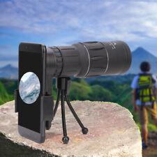 16X52 Zoom Optical HD Lens Monocular Telescope w/ Tripod Phone Mount For iPhone