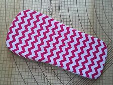 Baby jogger Deluxe fitted sheet for bassinet Pink Chevron