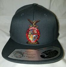 SINALOA MEXICO HAT DARK  HEATHER GREY FLEXFIT TECH 110 SNAP BACK FLAT BUILD