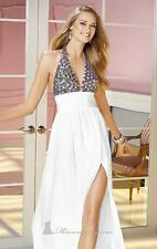 ALYCE Haltered Embellished Gown 2 *NWT* $358