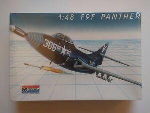 Monogram 5456 1/48 F9F-2 Panther U.S. Navy Jet Fighter