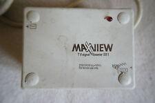 MAXVIEW Antena Amplificador De Señal De Tv/Fm Booster