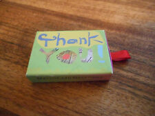 Clever Thank You Card - Size Matters - Card in a box Match Card Greetings
