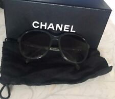 authentic CHANEL sunglasses in box, with fabric glasses case