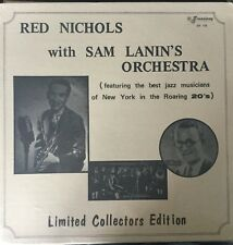 RED NICHOLS with SAM LANIN'S ORCHESTRA-LIMITED 1999 COLLECTORS ED VINYL-SEALED