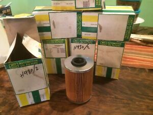 Lot of 7 BMW Oil Filters H-930/2, 533i, 630, 633CSi, 730, 733i