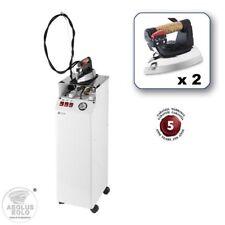 EOLO Centrale Vapeur Recharge Automatique 2 Fers à Repasser Professionnels AV01