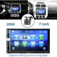 "2DIN 7"" HD Car Refit Stereo Radio MP5 Player Bluetooth Touch Screen &Rear Camera"
